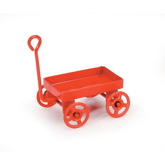 Darice Timeless Miniatures Rusted Tin Wagon