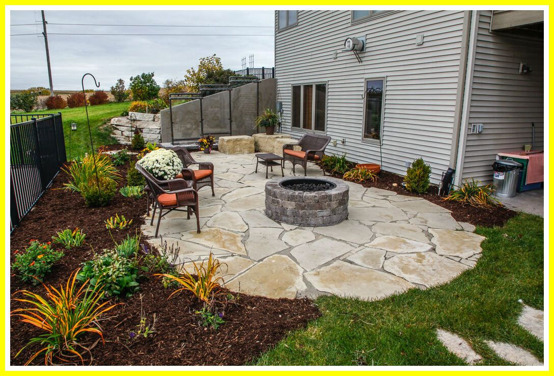 Pin On Patio Gravel Crushed Stone Patio Ideas