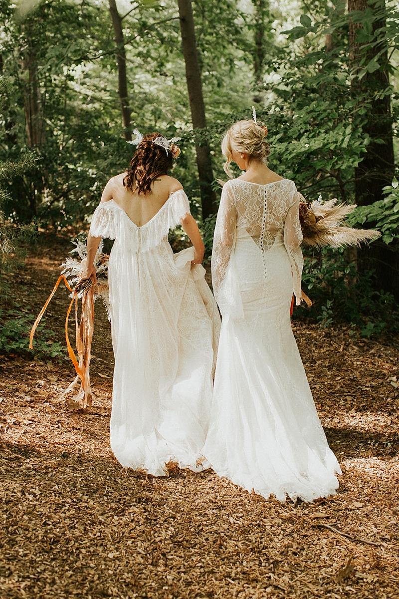 Whimsical Boho Romance Under The Trees Wedding Dresses Festival Wedding Dresses Wedding Dress Inspiration [ 1200 x 800 Pixel ]