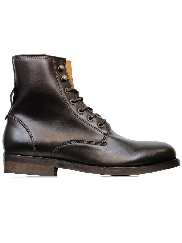 Wills Vegan Shoes Chukka boots - Botas para hombre Marrón marrón oscuro cGWnA5Y4