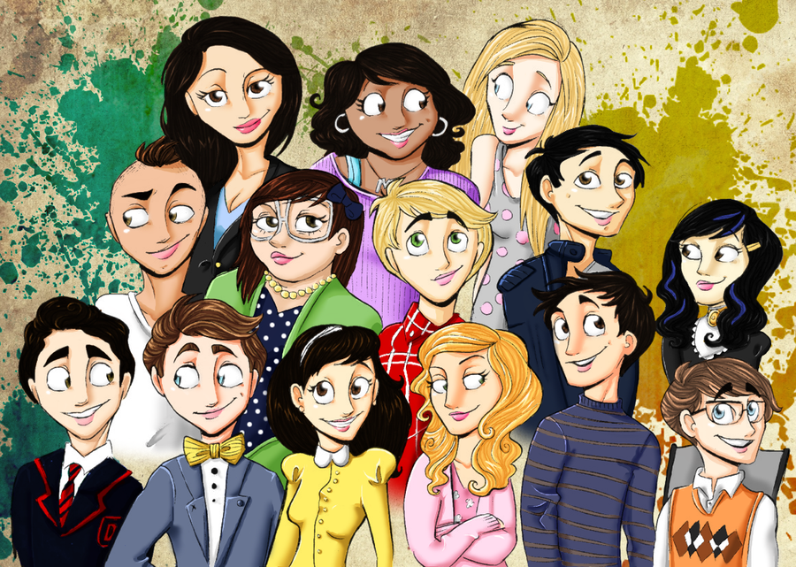 Glee Cast Logo