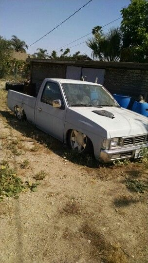 Body Drop Truck : truck, Nissan, Hardbody, Dropped.., Project, Hardbody,, Nissan,, Trucks