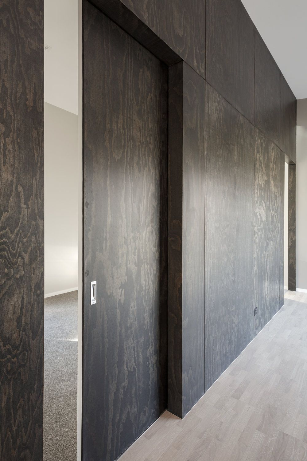 Black Stained Plywood Plywood Interior Plywood Wall Paneling Plywood Design