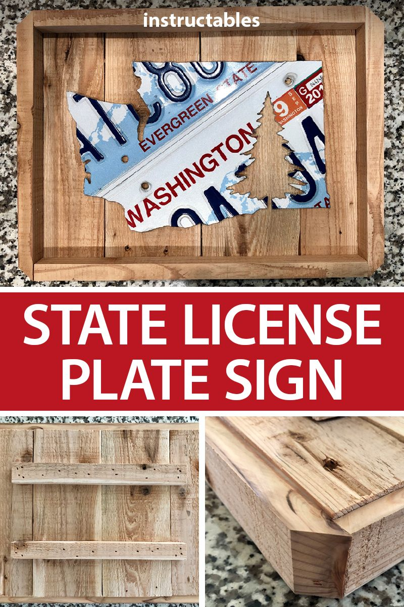 Washington Evergreen State License Plate AFC4369 License