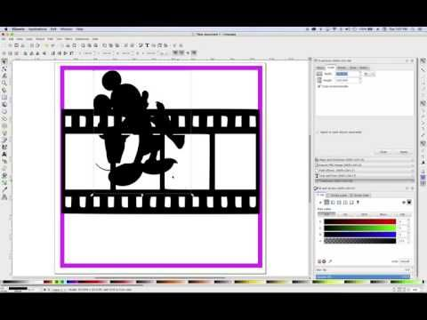 How To Create A Scrapbook Overlay Using Inkscape Youtube Scrapbook Overlay Overlays Scrapbook