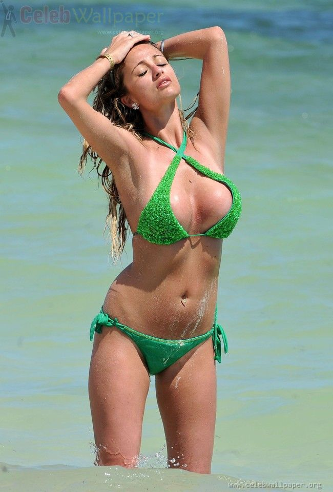 from Aaron chantelle houghton nude hot