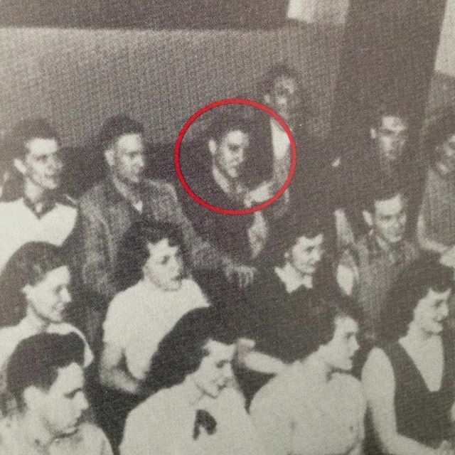 Elvis in L. C. Humes high school. #ElvisSerendipity #Elvis ...