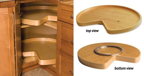 "Ikea Lazy Susan Captivating These Lazy Susans Fit Inside An Ikea 38"" Corner Cabinetyou Will Review"