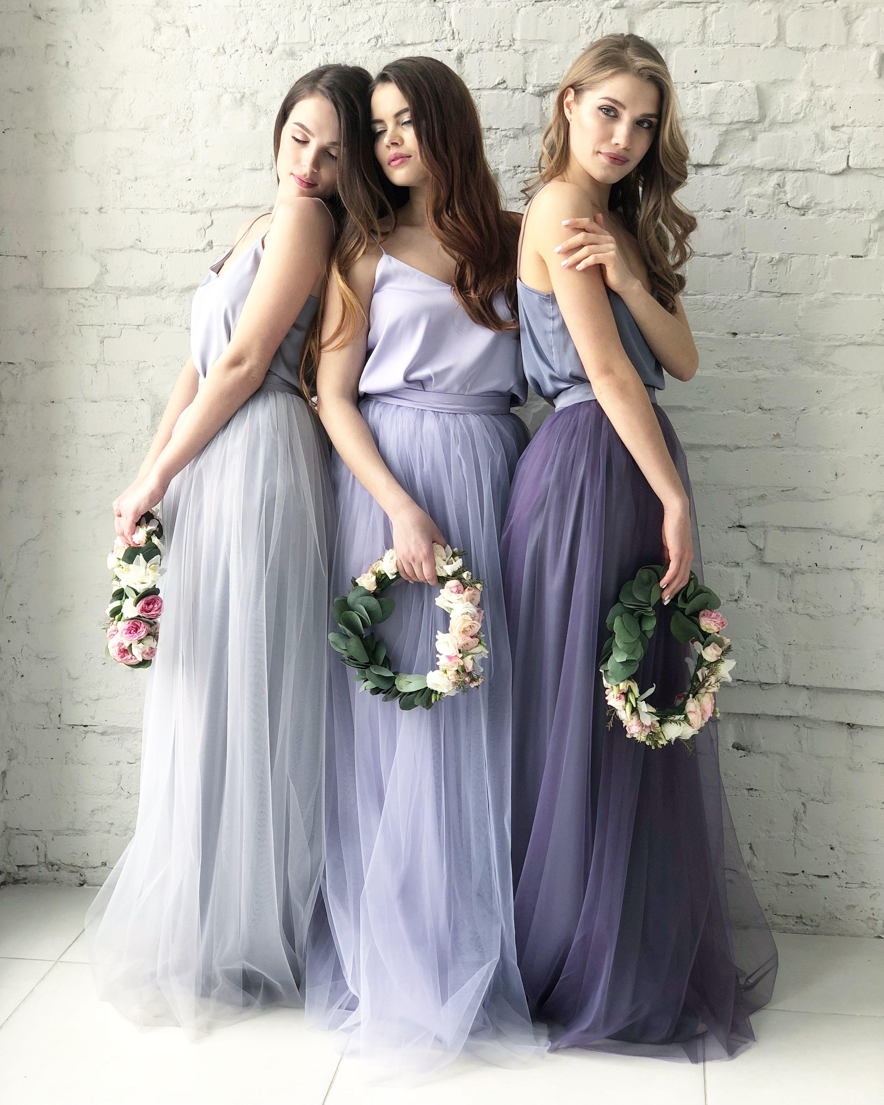 c3fa0f7aa914 Bridesmaids Dress Tulle Skirt Long Floor Length Women's Tulle Skirt ...