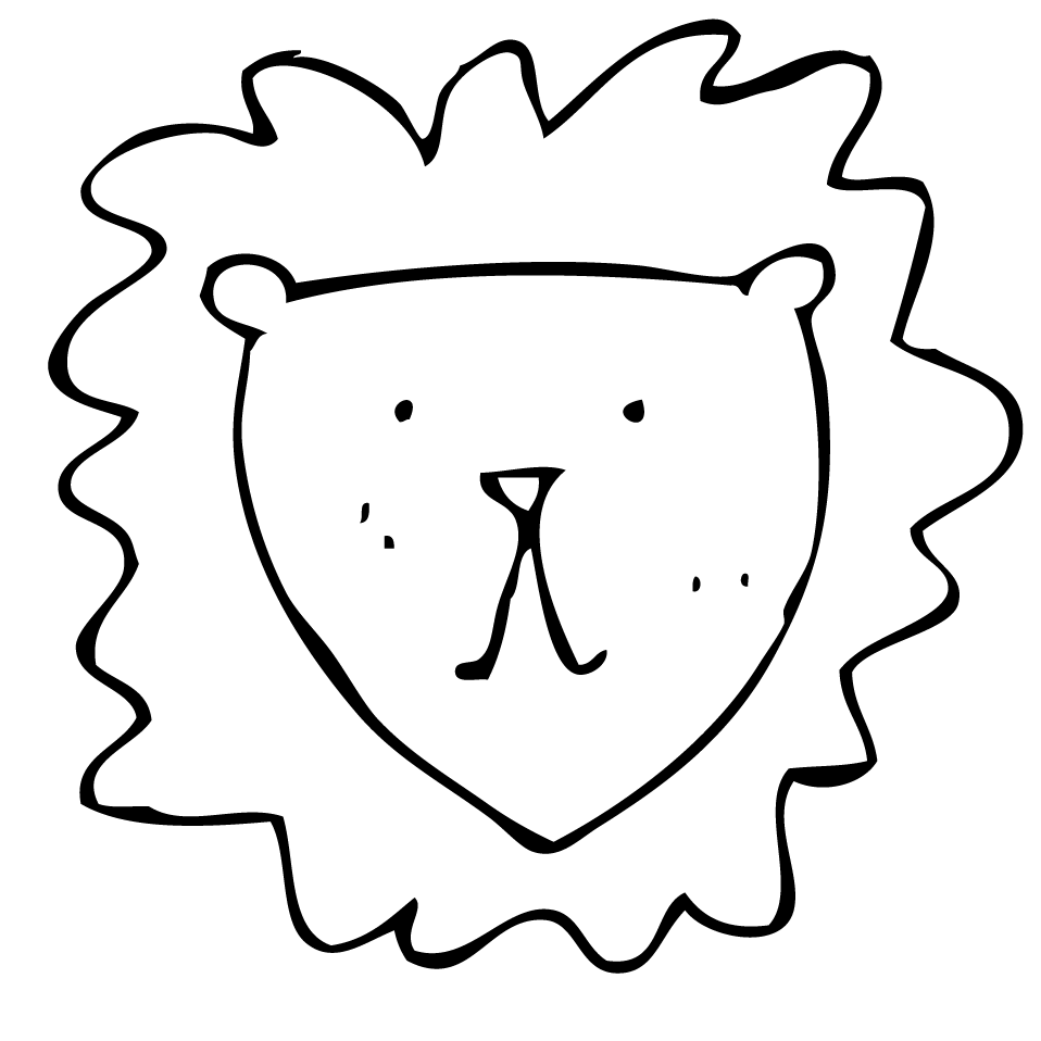 easy-pencil-drawing-of-a-lion-kcons.png (958×958)   Lion ...