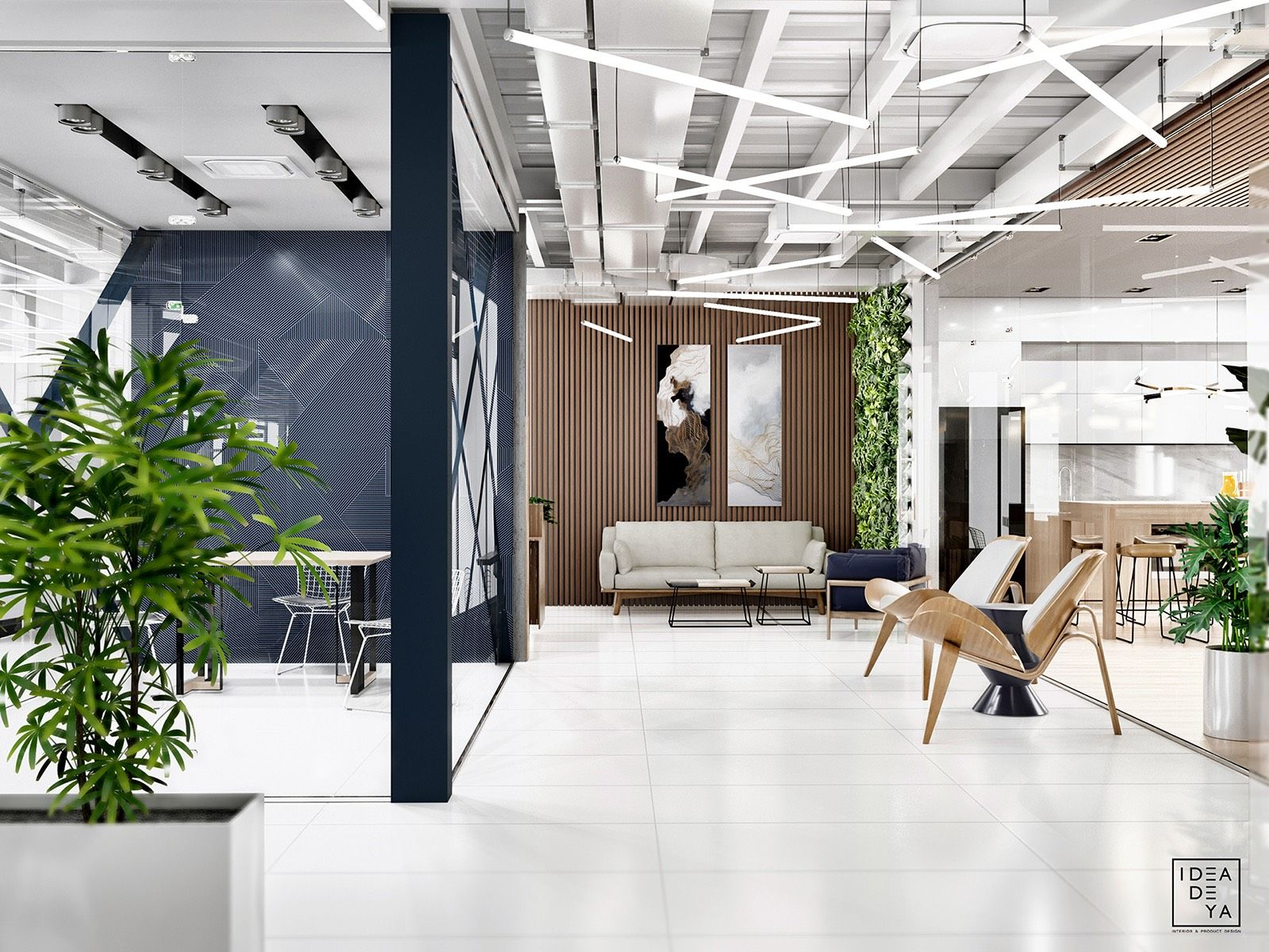 Inside Oxford Biolabs Contemporary Lviv Office