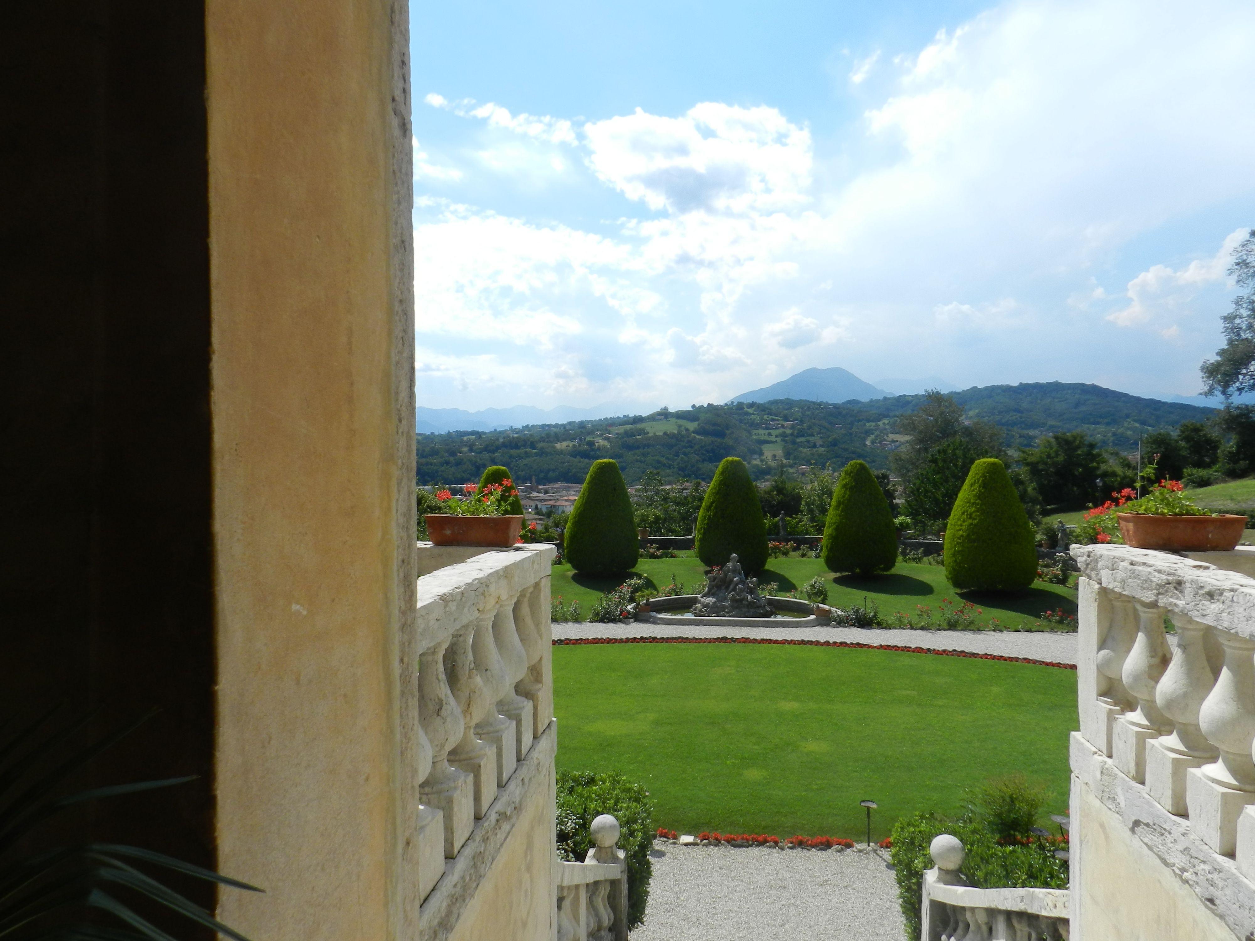 The view from Villa Godi