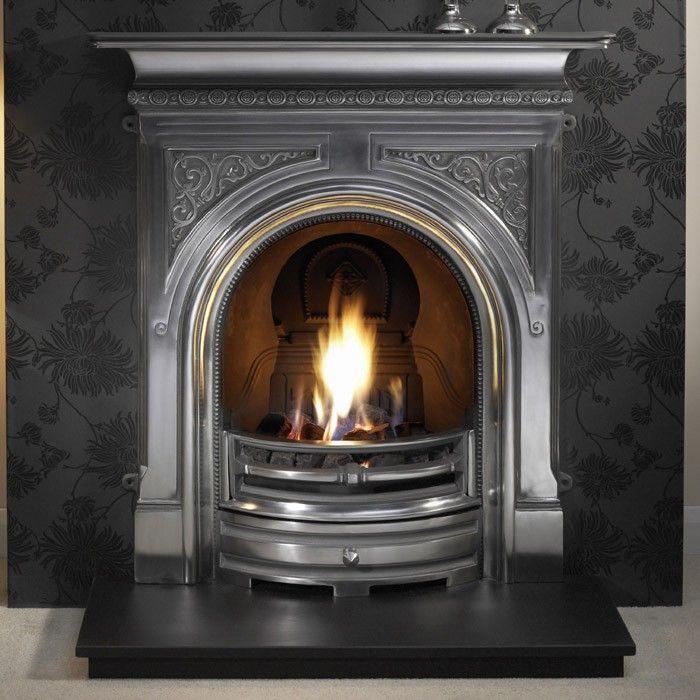 Cast Iron Combination Fireplaces Guide | Cast iron fireplace, Cast ...