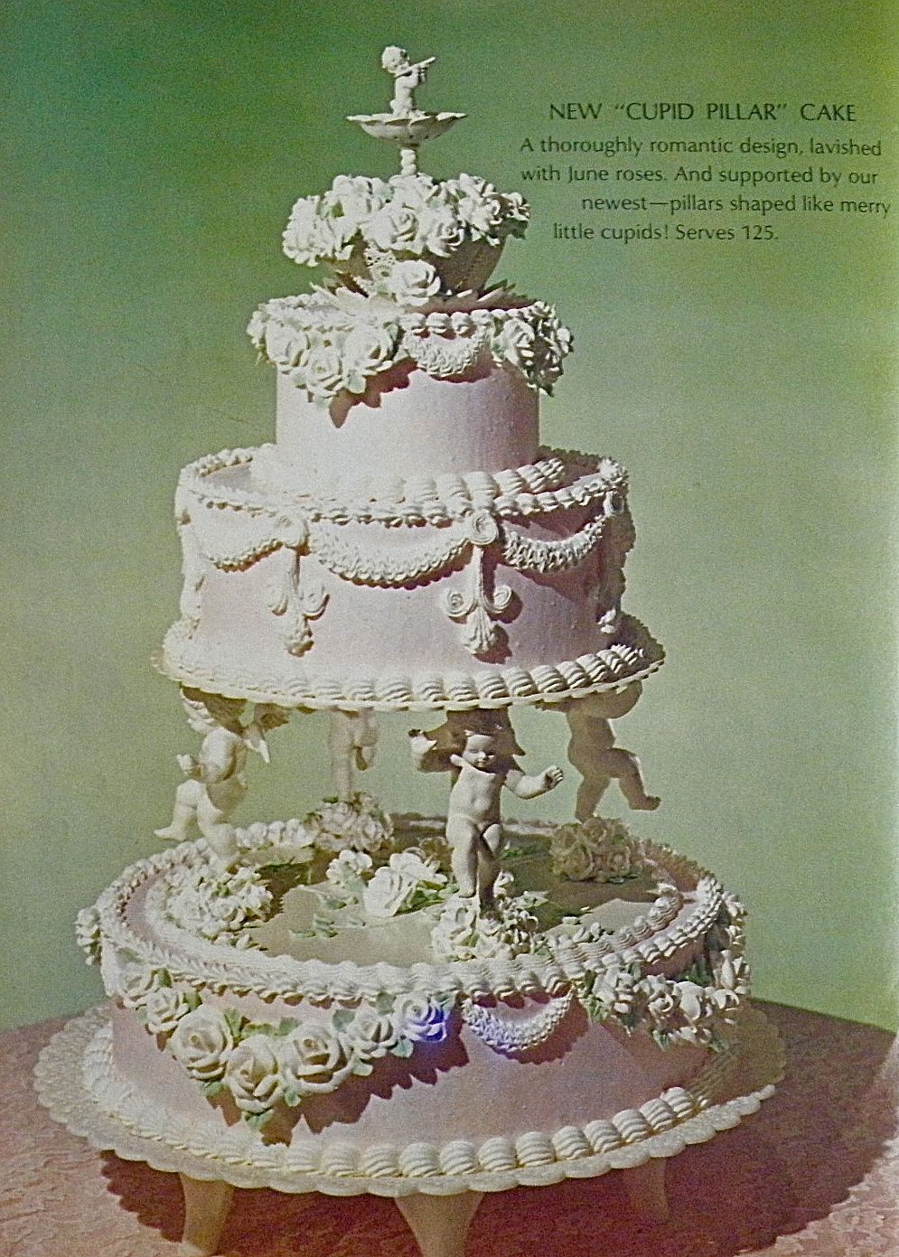 Good Things By David Vintage Wilton Wedding Cakes Vintage Food - Old Fashioned Wedding Cake
