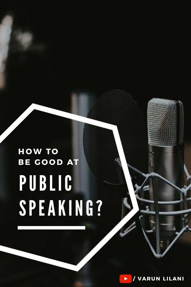 Fear of Public Speaking? | Personality development, Public ...