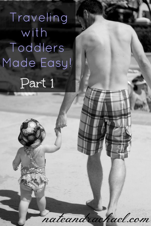 Traveling with toddlers doesn't have to be a painful experience! Check out these airport-related tips. {Part 1}