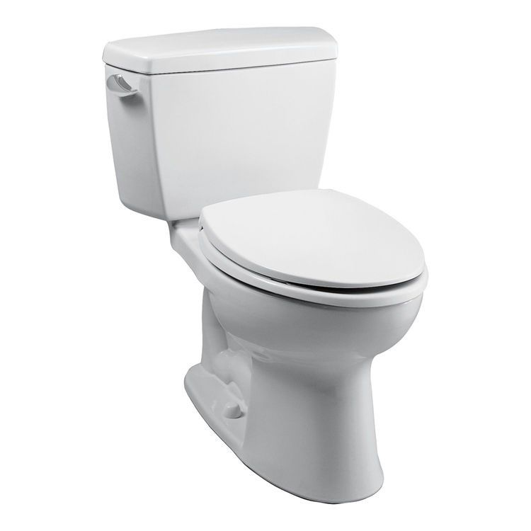 TOTO CST744S Two Piece Drake Elongated Toilet with G-Max Gravity ...