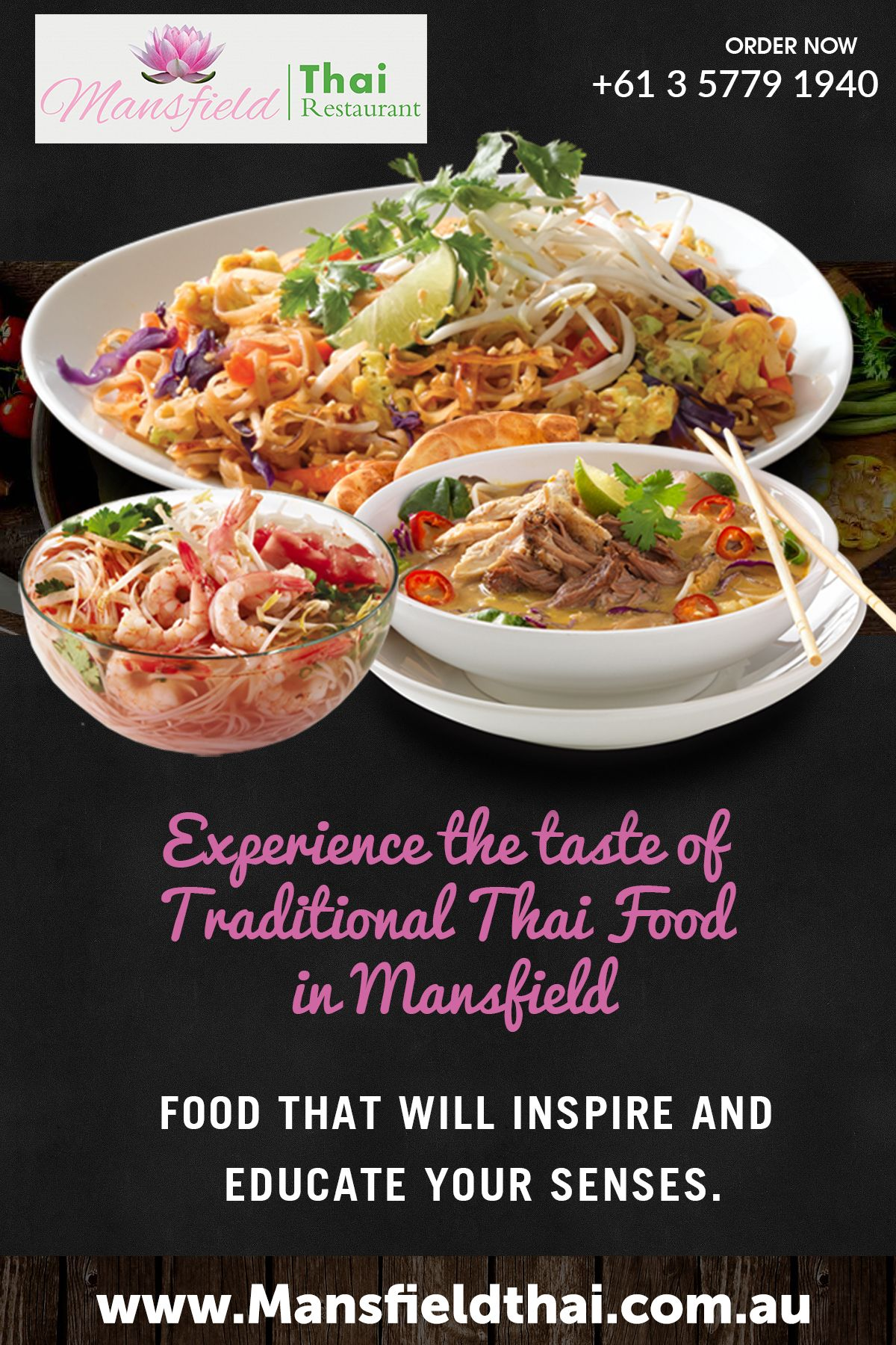 Mansfield Thai Restaurant And Cafe Uncovers Authentic Culturally Diverse Food Culture Around