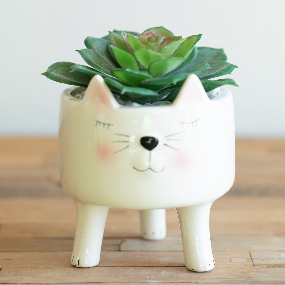 Overstock Com Online Shopping Bedding Furniture Electronics Jewelry Clothing More Animal Planters Planter Pots White Planters