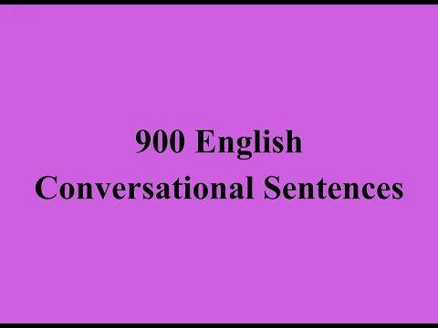 Daily English Conversations 900 English Conversational