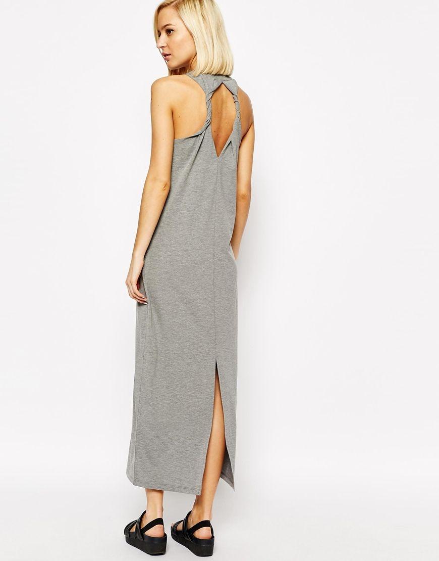 Vero Moda Razor Back Twist Detail Maxi Dress   Clothing   Pinterest ce85d034a364