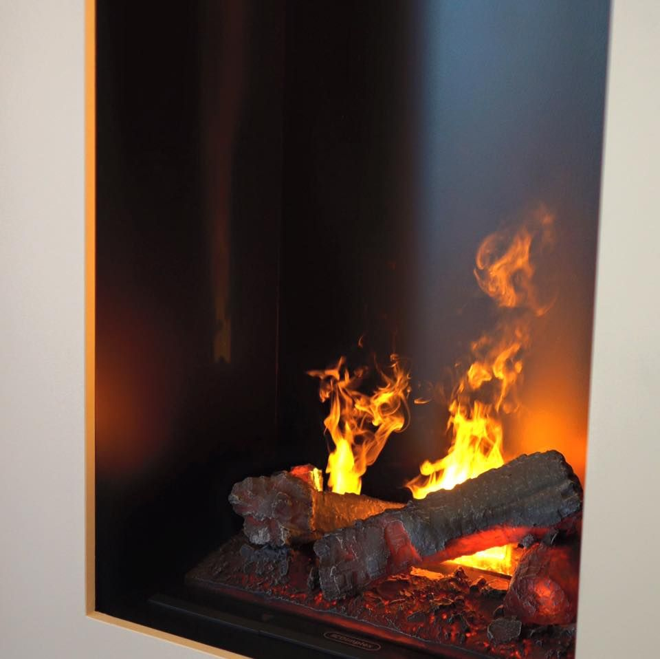 Electric Fireplace Inserts With Opti Myst Burner By Dimplex