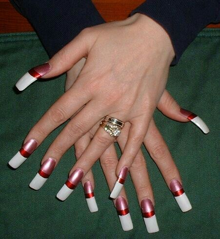 wide nails imageenticing on long nails  curved nails