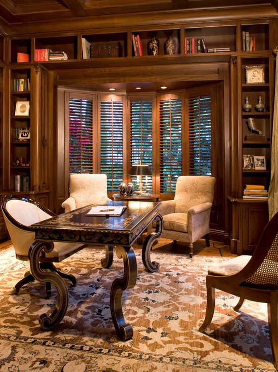 Marvelous Traditional Home Office Design, Pictures, Remodel, Decor And Ideas   Page 2
