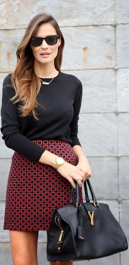 Tweed Mini Skirt by LadyAddict|Stylelovely