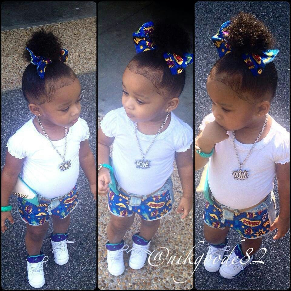 Swag Cute and beautiful black kids! love | Kids fashion ... |Little Black Kids With Swag