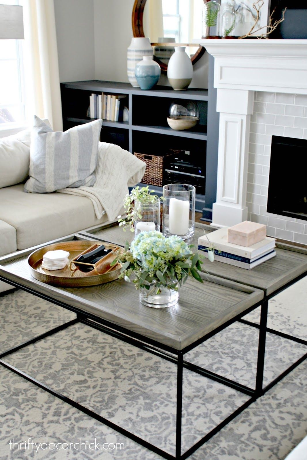 Photo of A LARGE coffee table for a fraction of the price! (SO much better.)