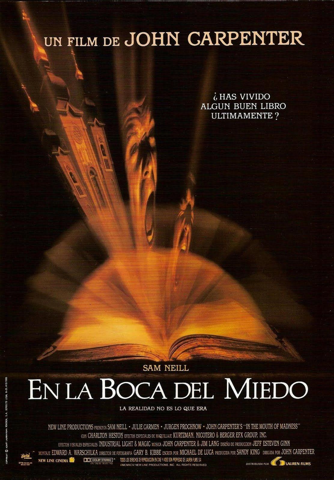 En la boca del miedo / In the mouth of madness (1995)