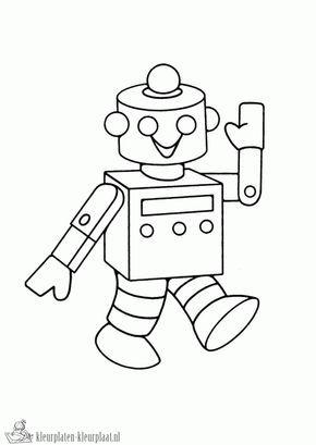 Kleurplaten Robots.Kleurplaten Robot Kleurplaten Kleurplaat Nl Robots Robots