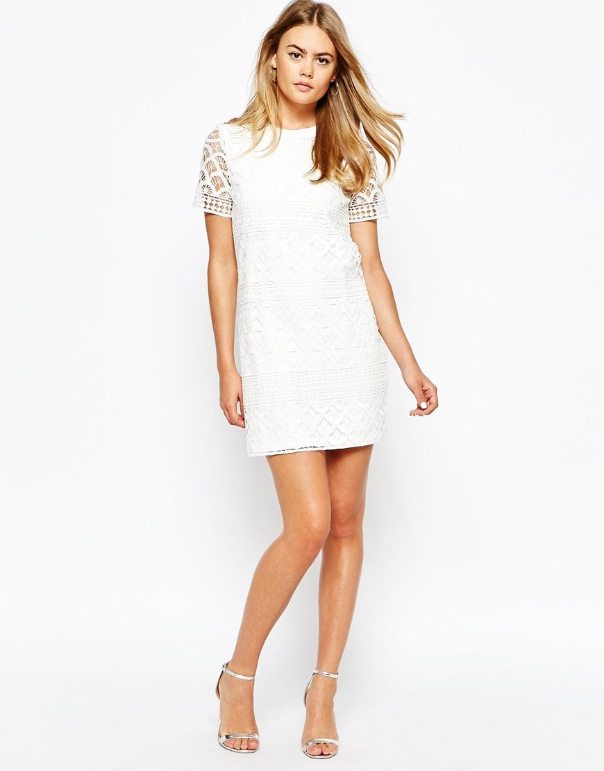 Image 4 of River Island Crochet Shift Dress | The Dress ...