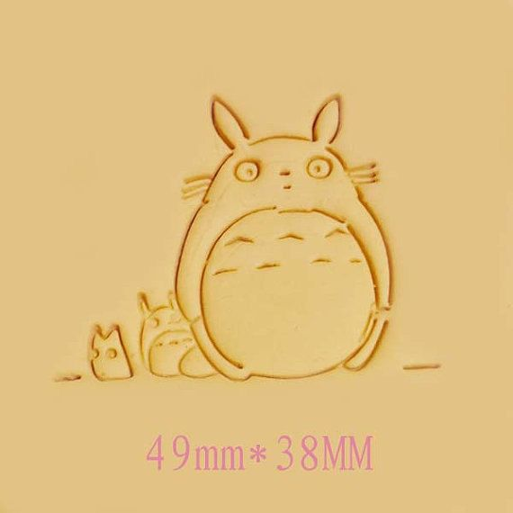 Totoro Family Resin Stamp Soap Stamps Resin Seal Stamp Cookies Stamp Candy Stamp