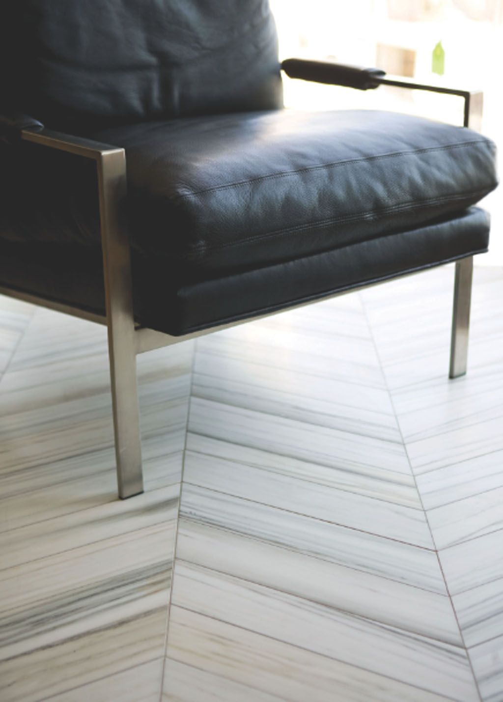 Herringbone marble floor gorgeous a study in aesthetics walker zanger helsinki chevron tiles in silver dusk dailygadgetfo Image collections