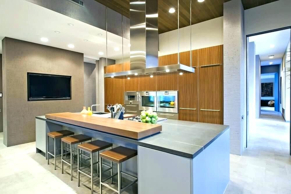 Two Level Kitchen Island New Interesting Tier Throughout How To