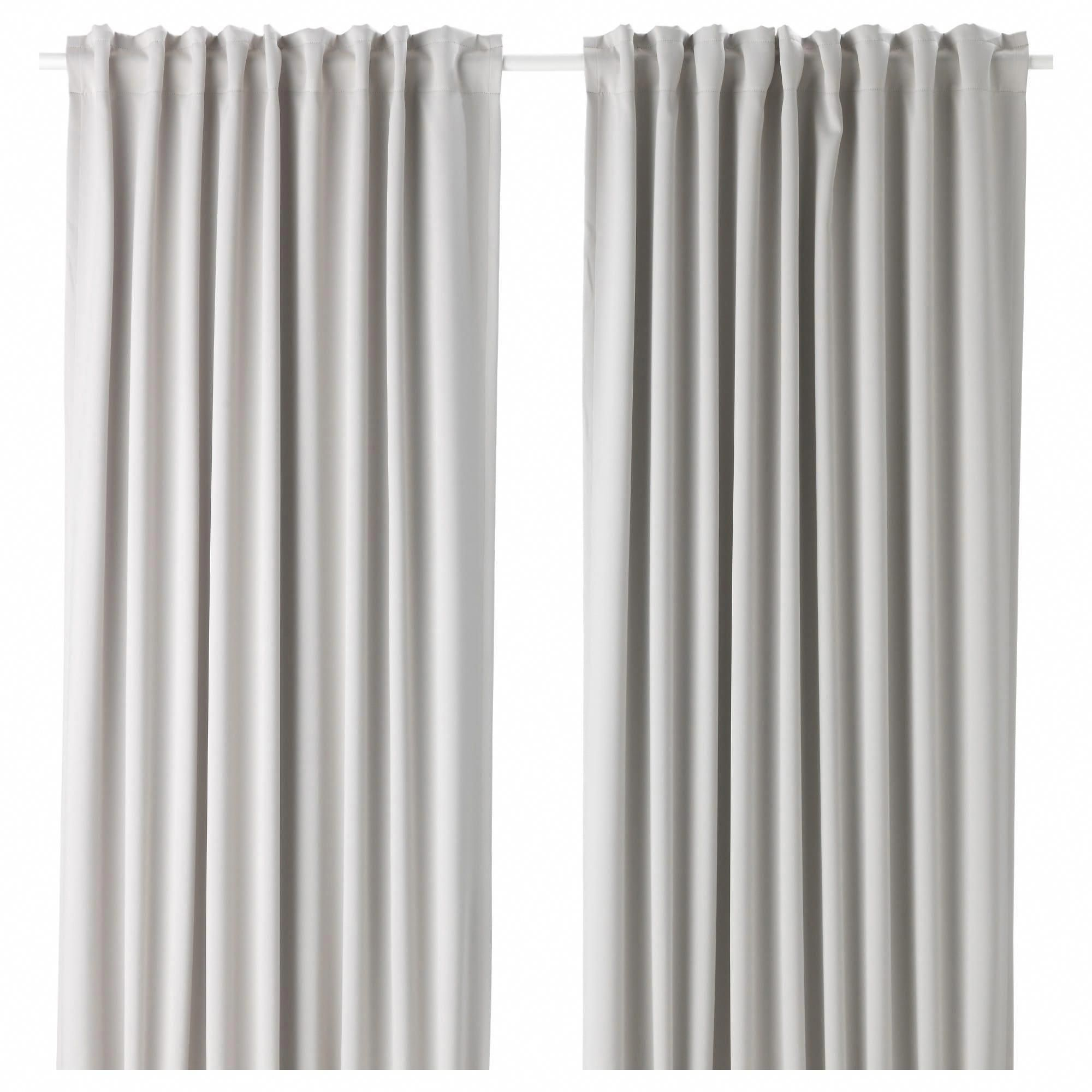 Ikea Majgull Blackout Curtains 1 Pair Light Gray Roomdarkeningideas Blackoutcurtainsforbedroom Block Out Curtains Room Darkening Curtains Cool Curtains