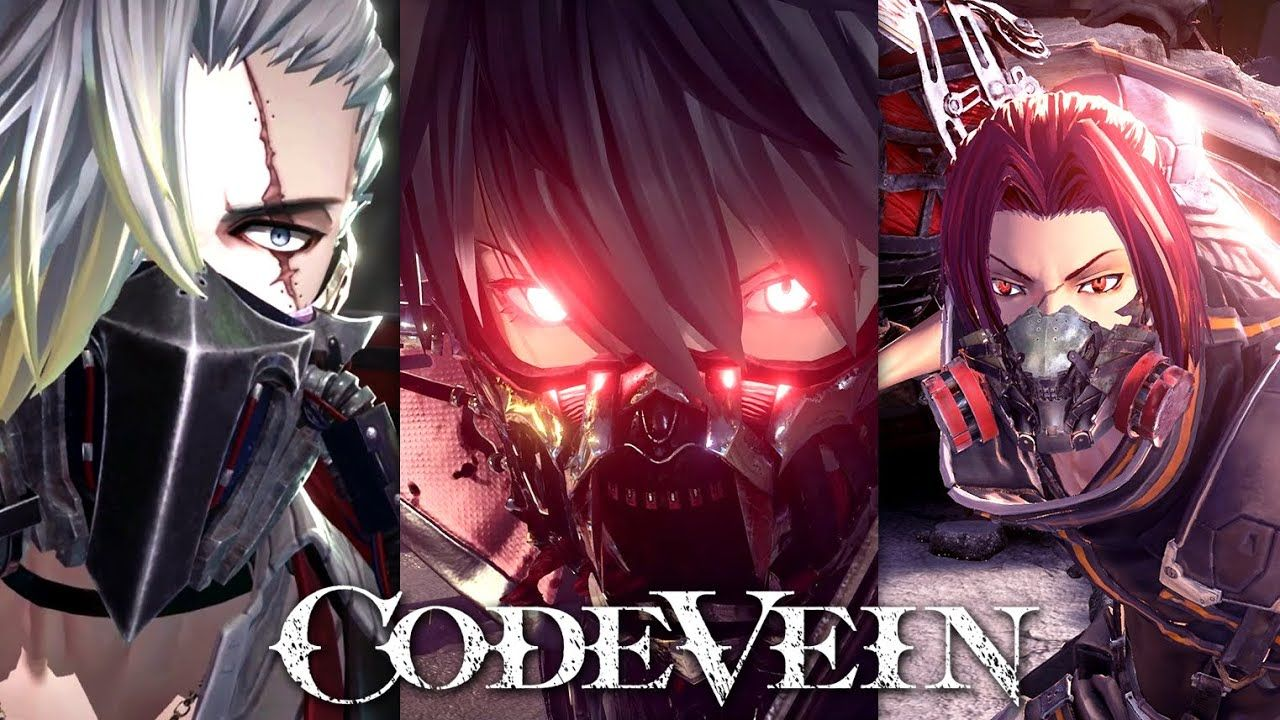 CODE VEIN All Trailers so Far & 35 Miniutes of Gameplay