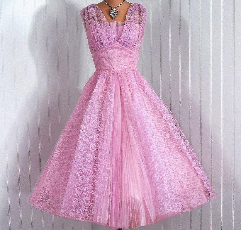 vestido anos 50   Fifties Fabulish*is*ness   Pinterest   Originales ...