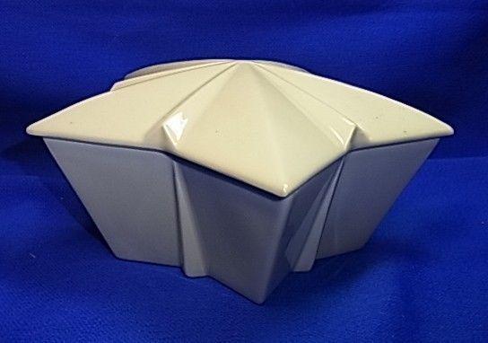 Vintage German Hutschenreuther Porcelain Star Box Candy Container #BJ #Hutschenreuther