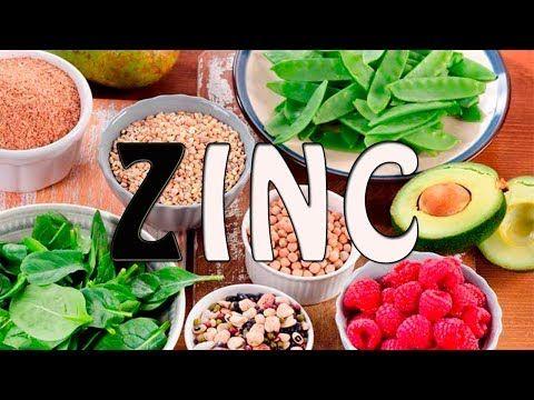 Que alimentos tienen mas zinc