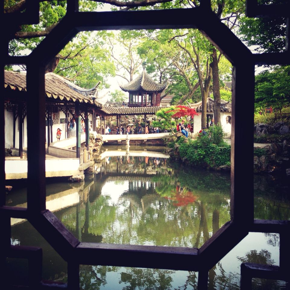 Humble Administrator Garden Suzhou China 苏州拙政园 Would