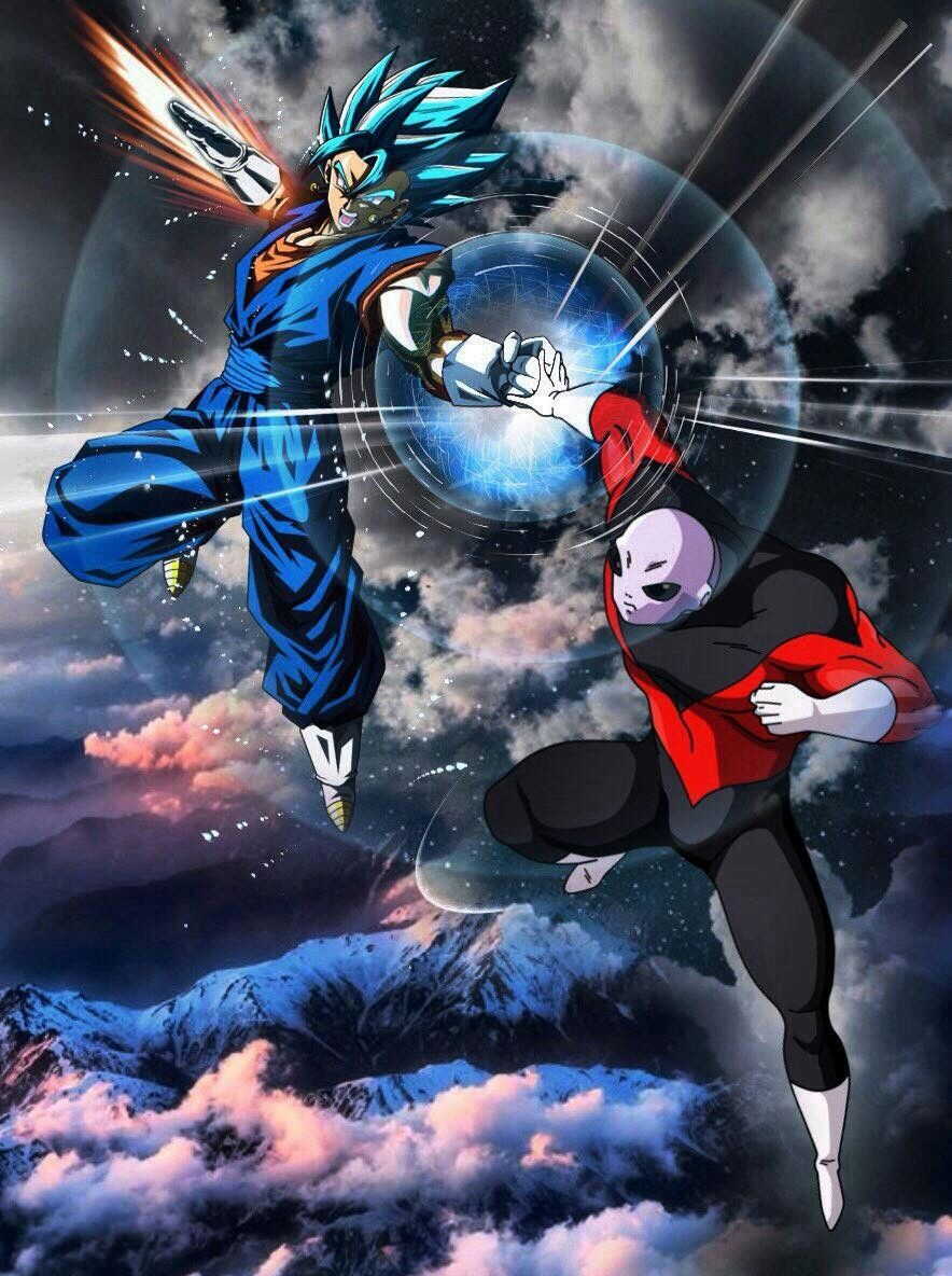 Vegito Vs Jiren Anime Pinterest Dragon Ball Dragons