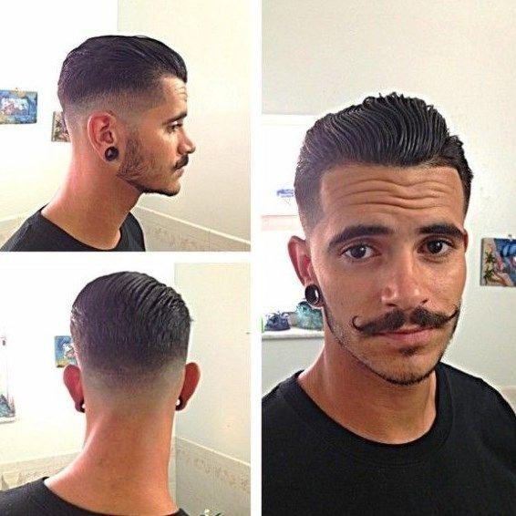rockin rockabilly hairstyles for men barbe pinterest. Black Bedroom Furniture Sets. Home Design Ideas