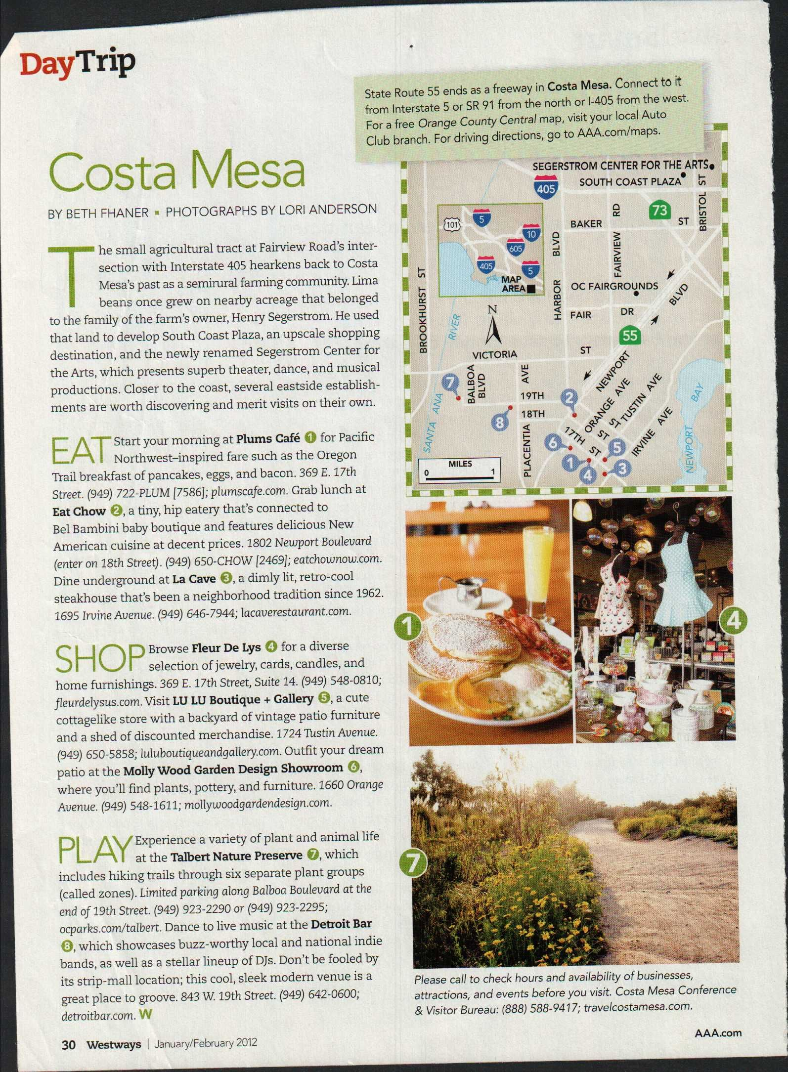 Costa Mesa Day Trips Mesa Places To See