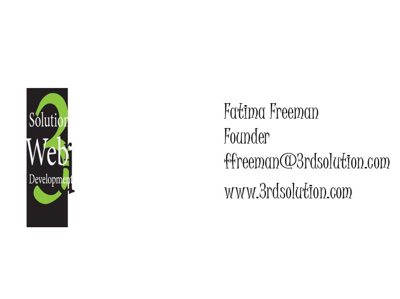 Designed this business cards with Adobe InDesign for the purpose of ...