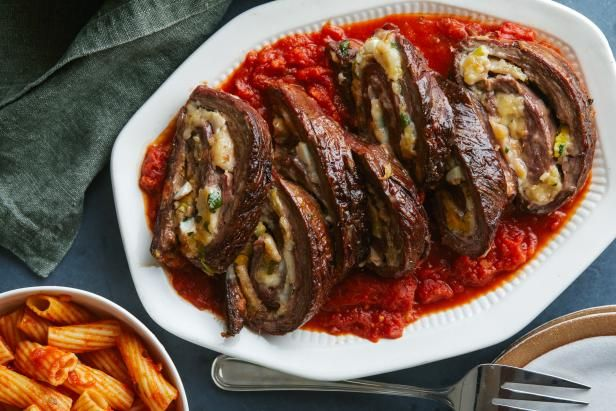 Get Beef Braciola Recipe from Food Network