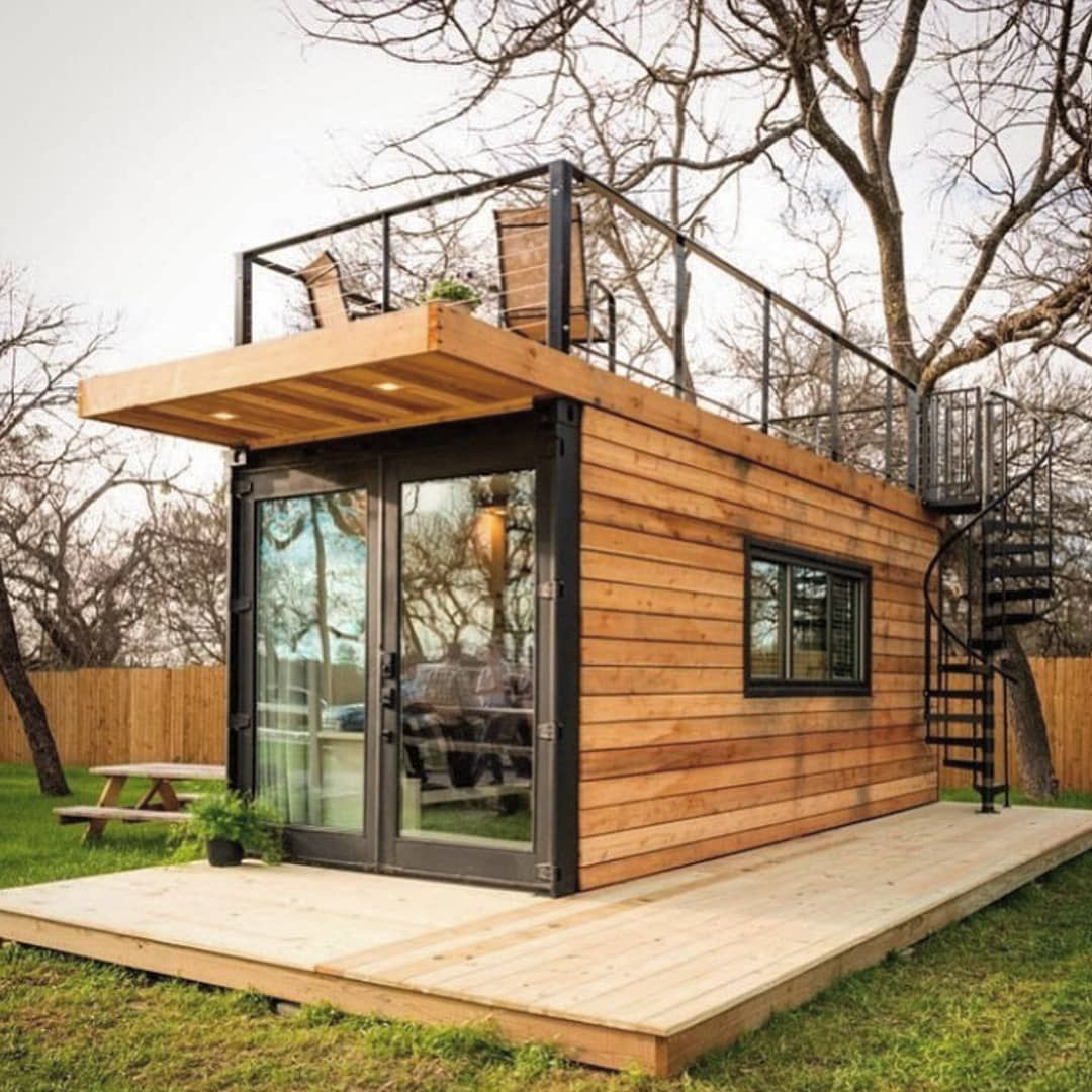 Shipping Container Homes On Instagram On A Scale Of 1 10 Rate This Home The Anchor Home By Cargo Cargo Home Container House Shipping Container House Plans