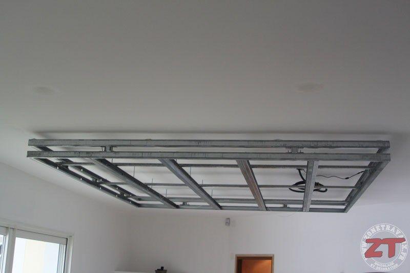 Un tutoriel ZoneTravaux dédié à la création du0027un faux-plafond qui